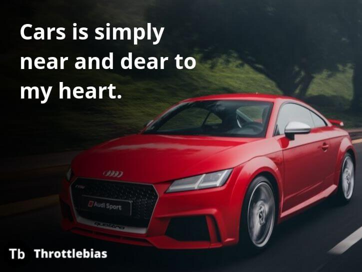 Cars is simply near and dear to my heart