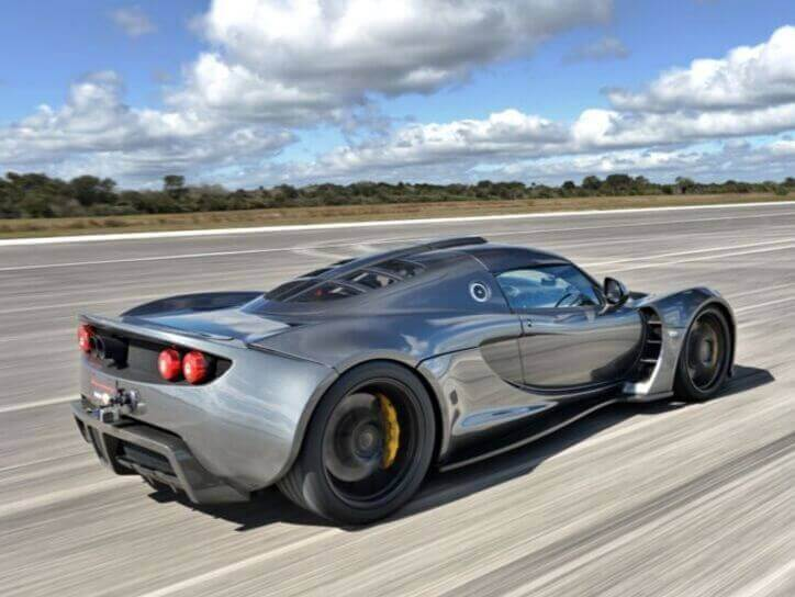 Hennessey fastest car