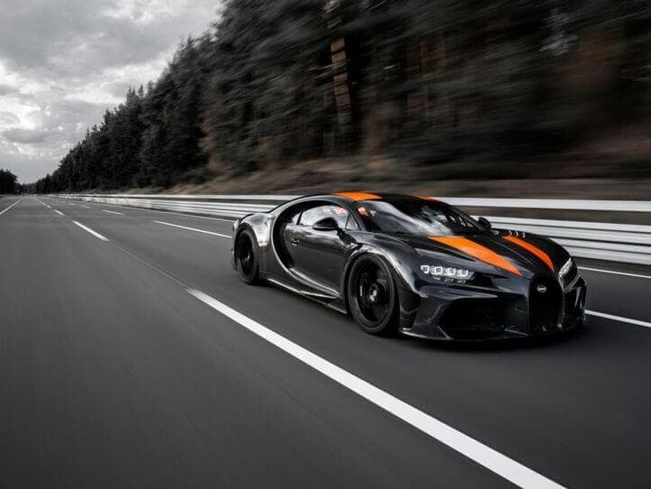List of Fastest car in the world