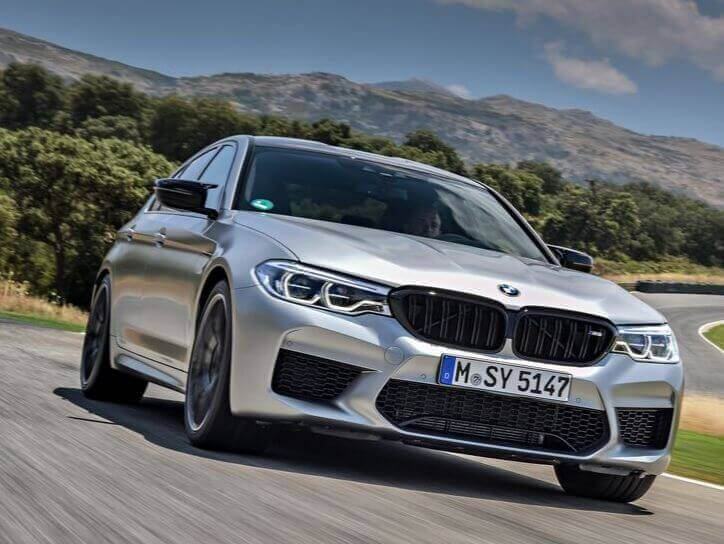 BMW M5 Competition Top Speed
