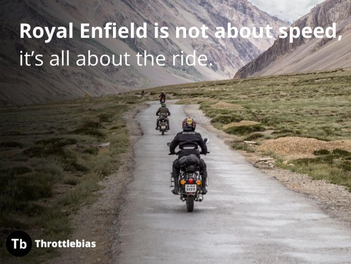 Quotes for Royal Enfield