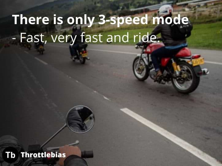 Royal Enfield Speed Quotes