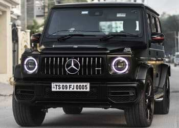 Mercedes G Wagon fancy number plate