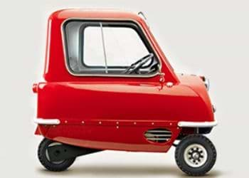 Peel P50 in the red color