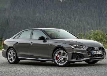 Audi S5 sedan in black color