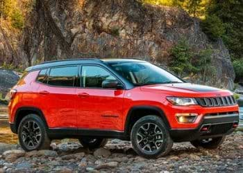 Jeep Compass in dual tone color