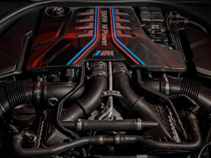 BMW M8 Competition Engine Specs