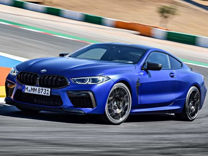 BMW M8 Competition Top Speed
