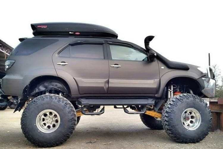 top 5  badass  modified toyota fortuner suvs in india  pics