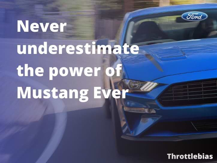 mustang quotes for muscle car lovers