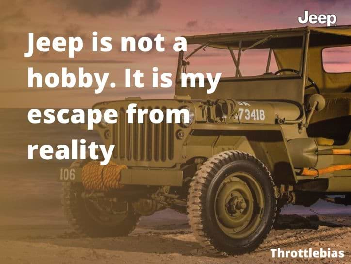 Famous Jeep Sayings