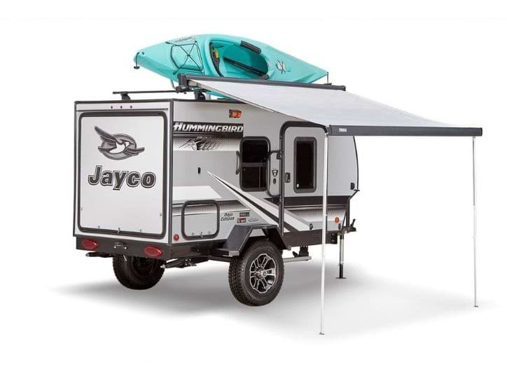 Jayco Hummingbird In White Color