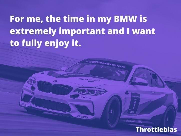 My BMW Quote