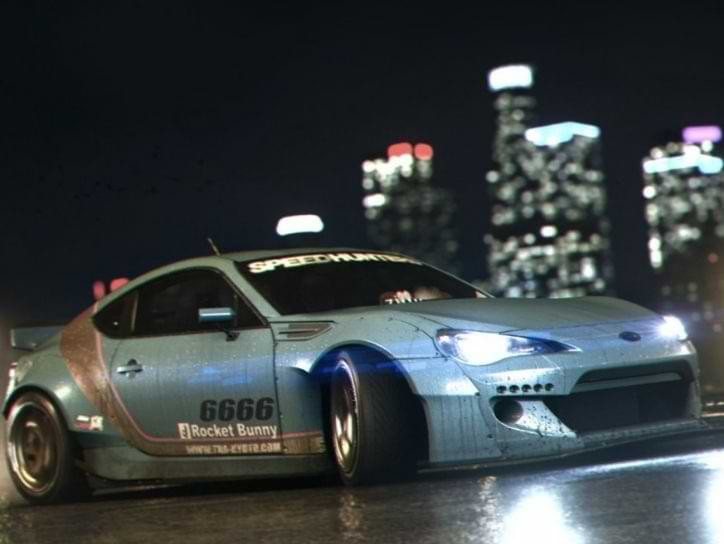 Need for Speed 2015 Toyota Supra