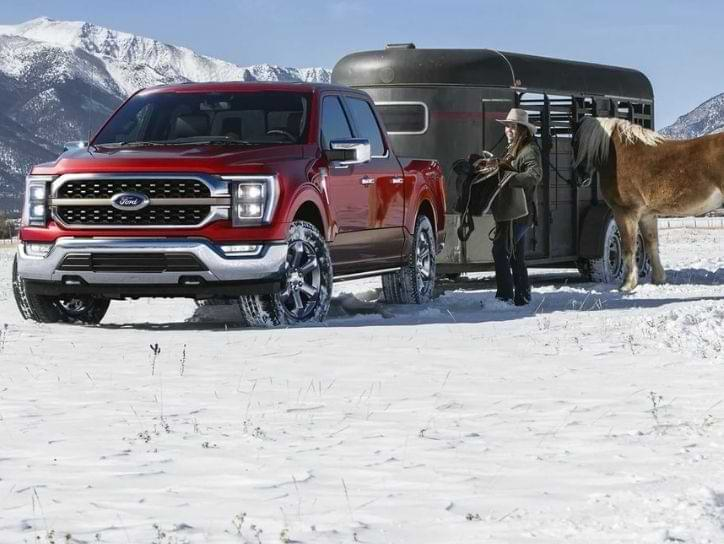 Ford F-150 for towing travel trailer