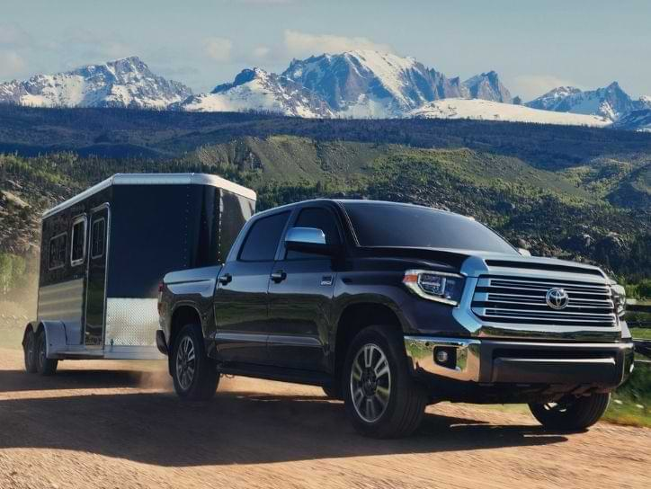 Toyota Tundra for towing travel trailer