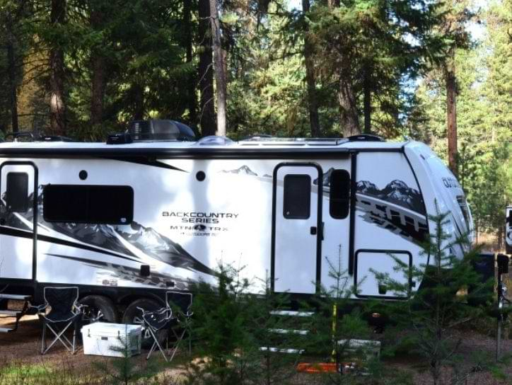 Outdoors Travel Trailer