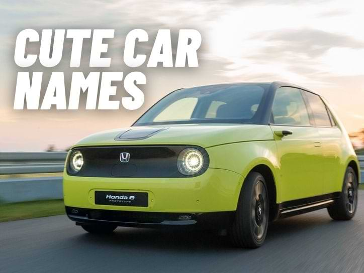 Cute names for cars
